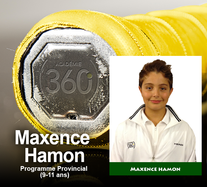 Max... Maximum... Maxence