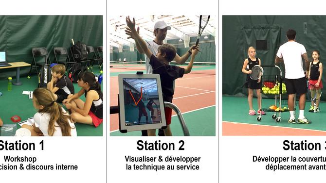 Séance d'entraînement mardi 17 octobre 2016 - Programme Provincial