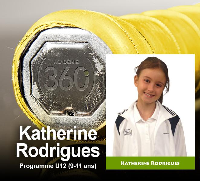 Les premiers honneurs reviennent à Katherine Rodrigues