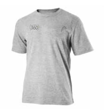 Uniforme (360) HEAD T-shirt Dry-fit - Homme