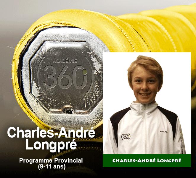 Bravo Charles-André !