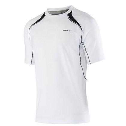 T-shirt d'entrainement blanc / Head (360)