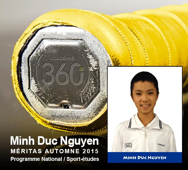 Minh Duc Nguyen : Meritas – saison automne2015 / Programme National
