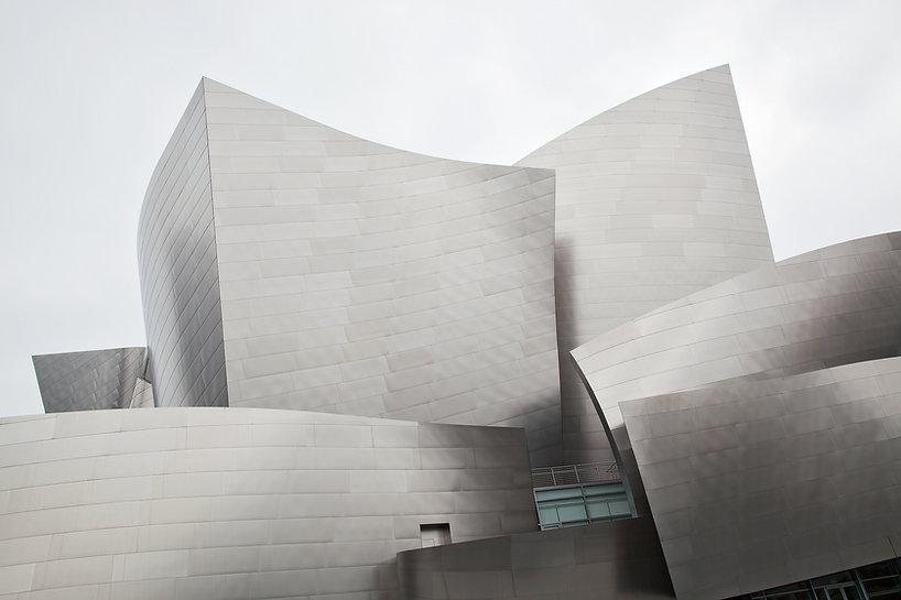 Walt Disney Concert Hall Frank Gehry Fot
