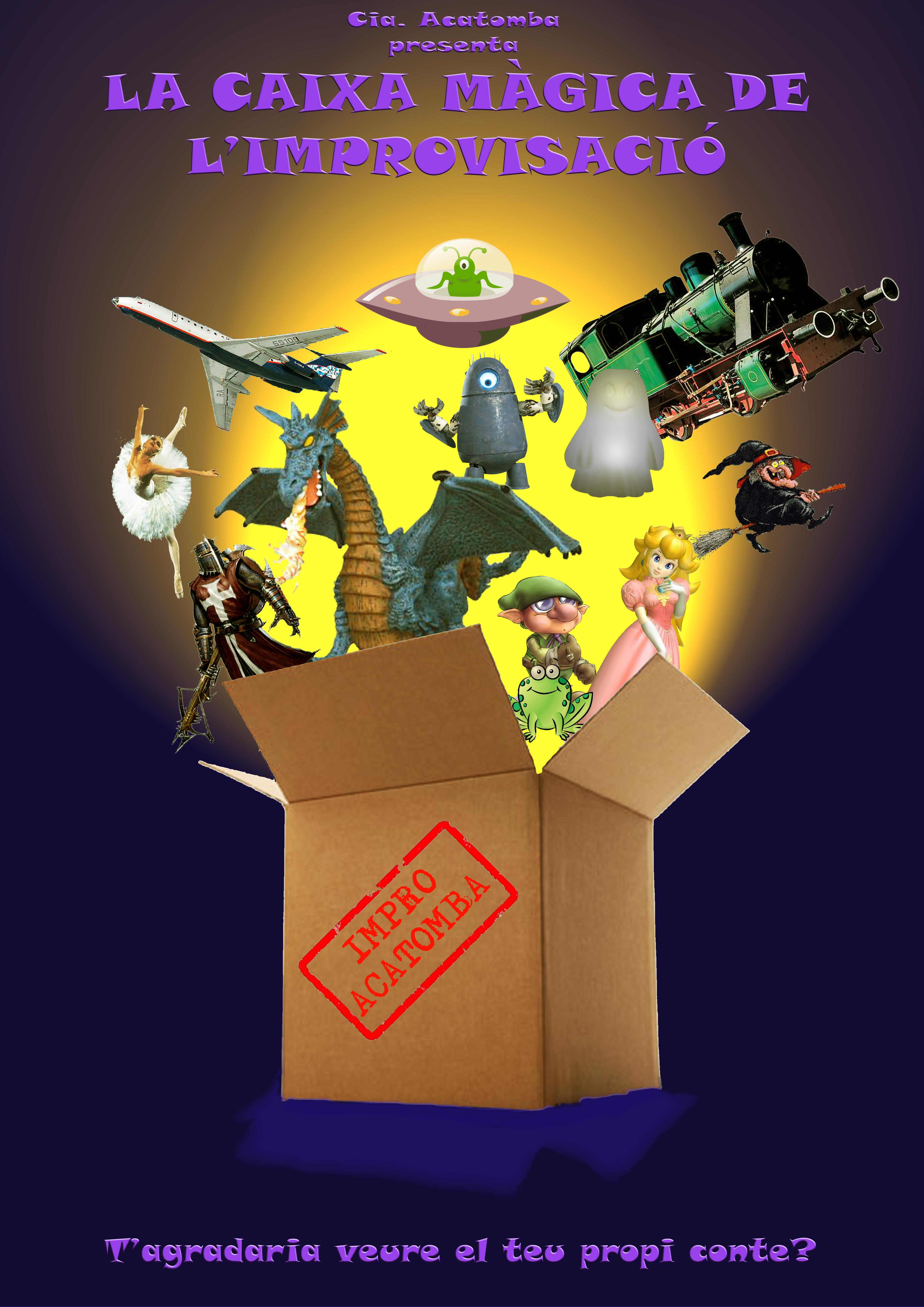 ACATOMBA - La caixa magica HD