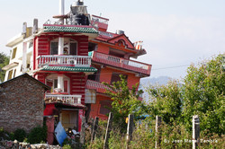ruins of Nepal Gosaikunda trek