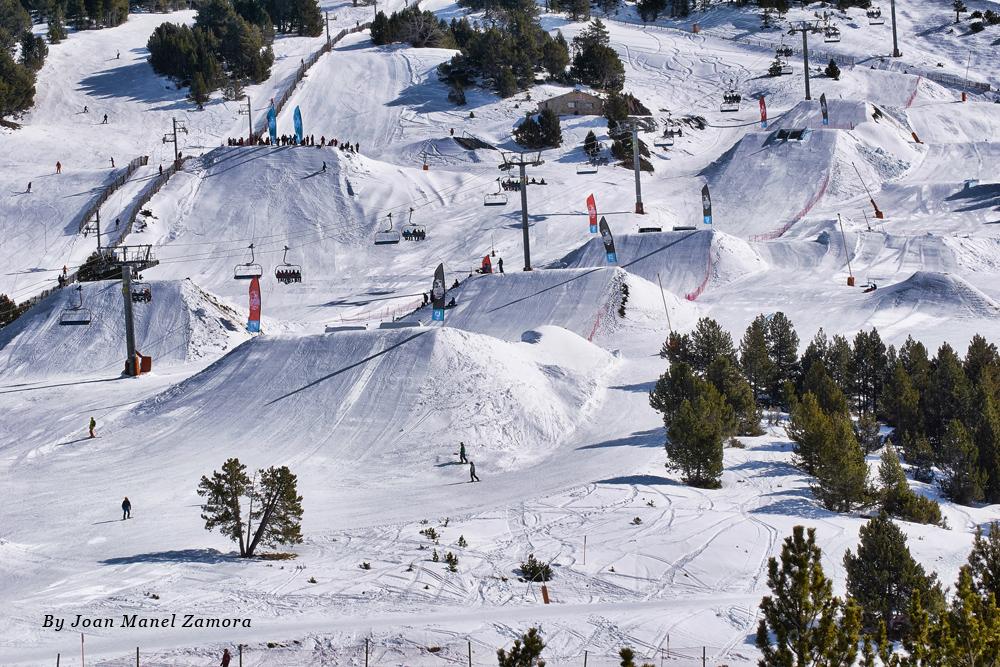 Snow park el Tarter