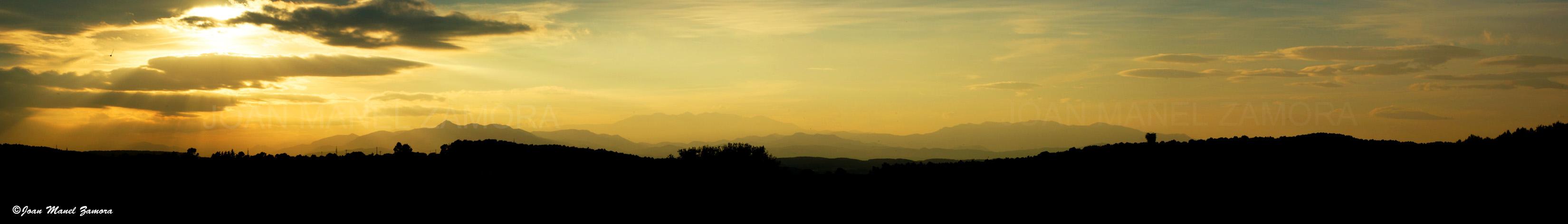06037 SUNSET PANORAMIC-FINE ART