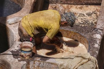 Sidi Moussa tannery
