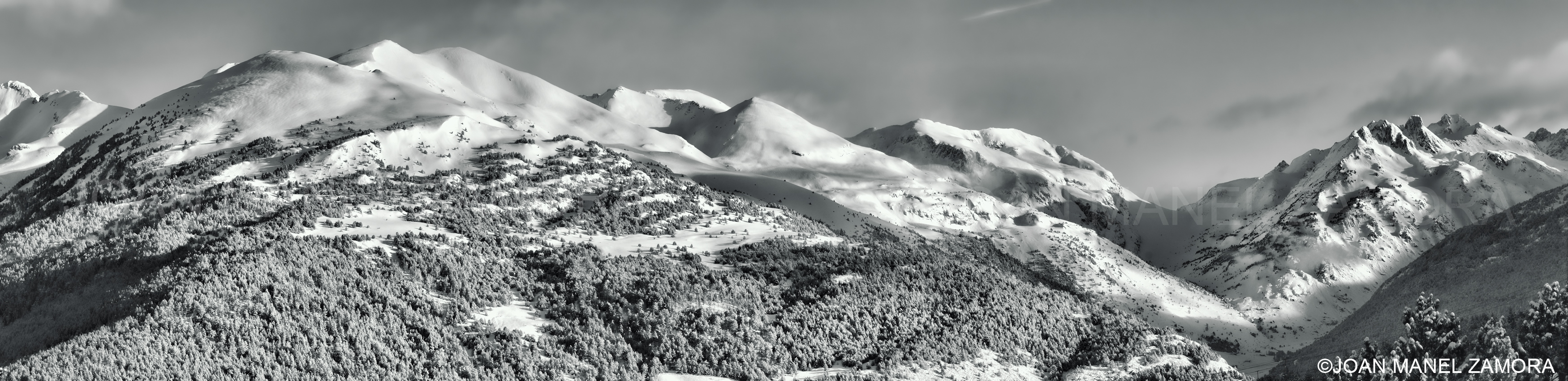 06128 WINTER MOUNTAIN-FINE ART