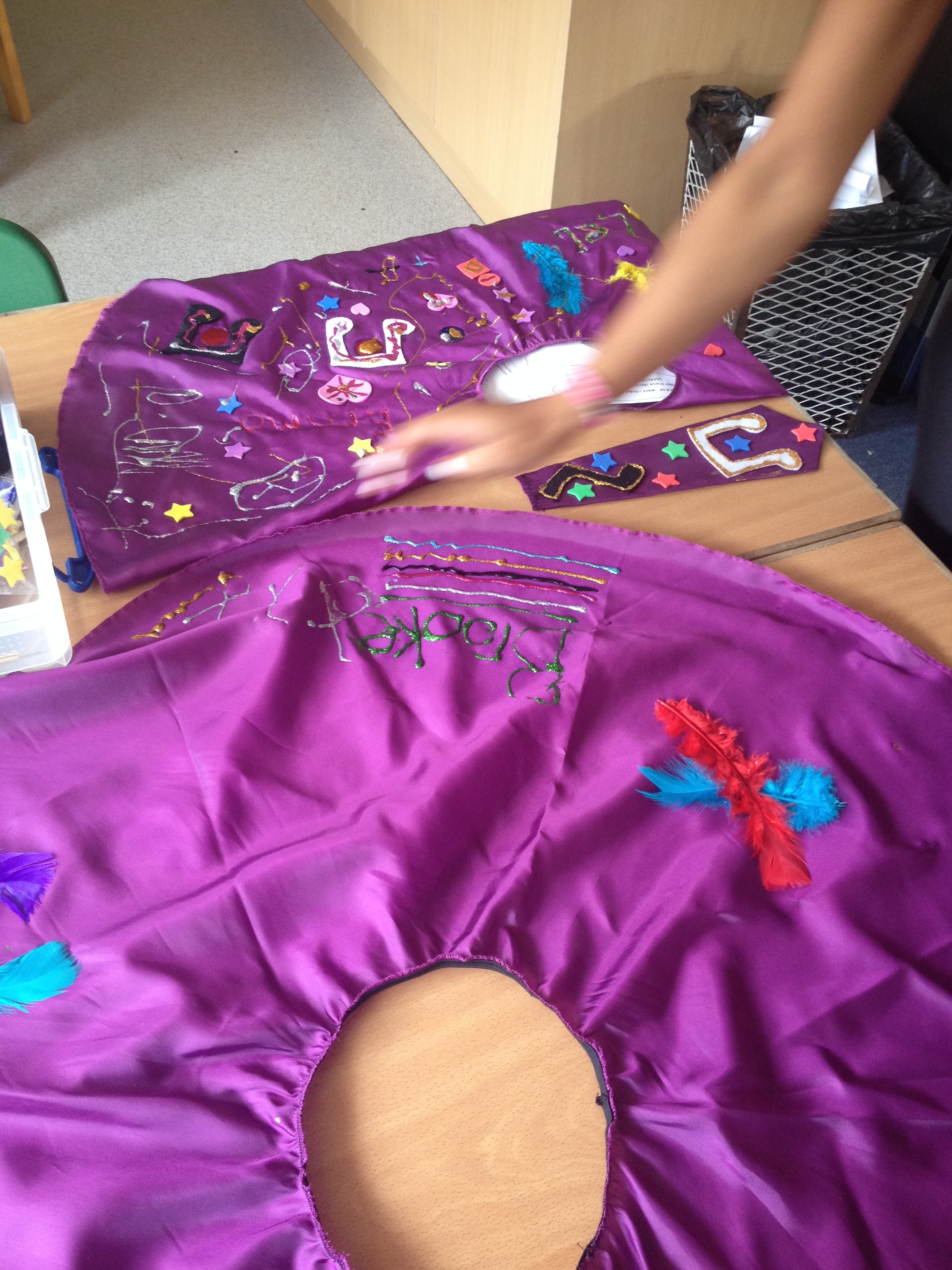 Rock N Roll skirt making!