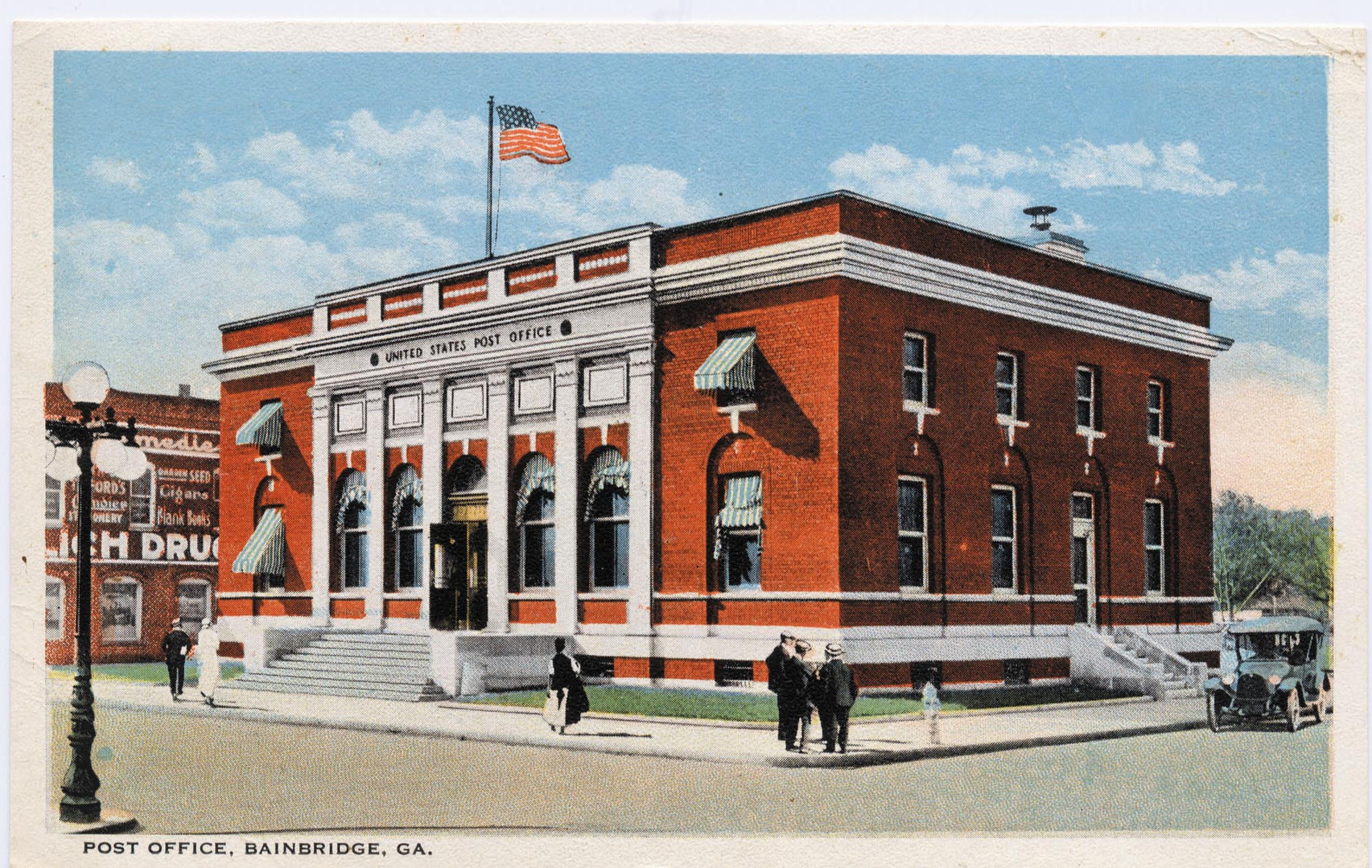 Old Post Office at the corner of Broughton & West Street