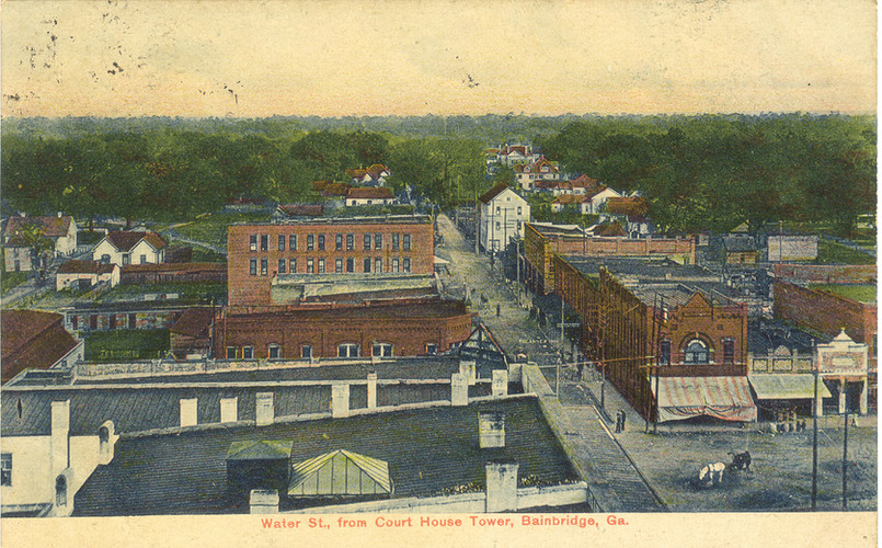 1907 View from clock tower