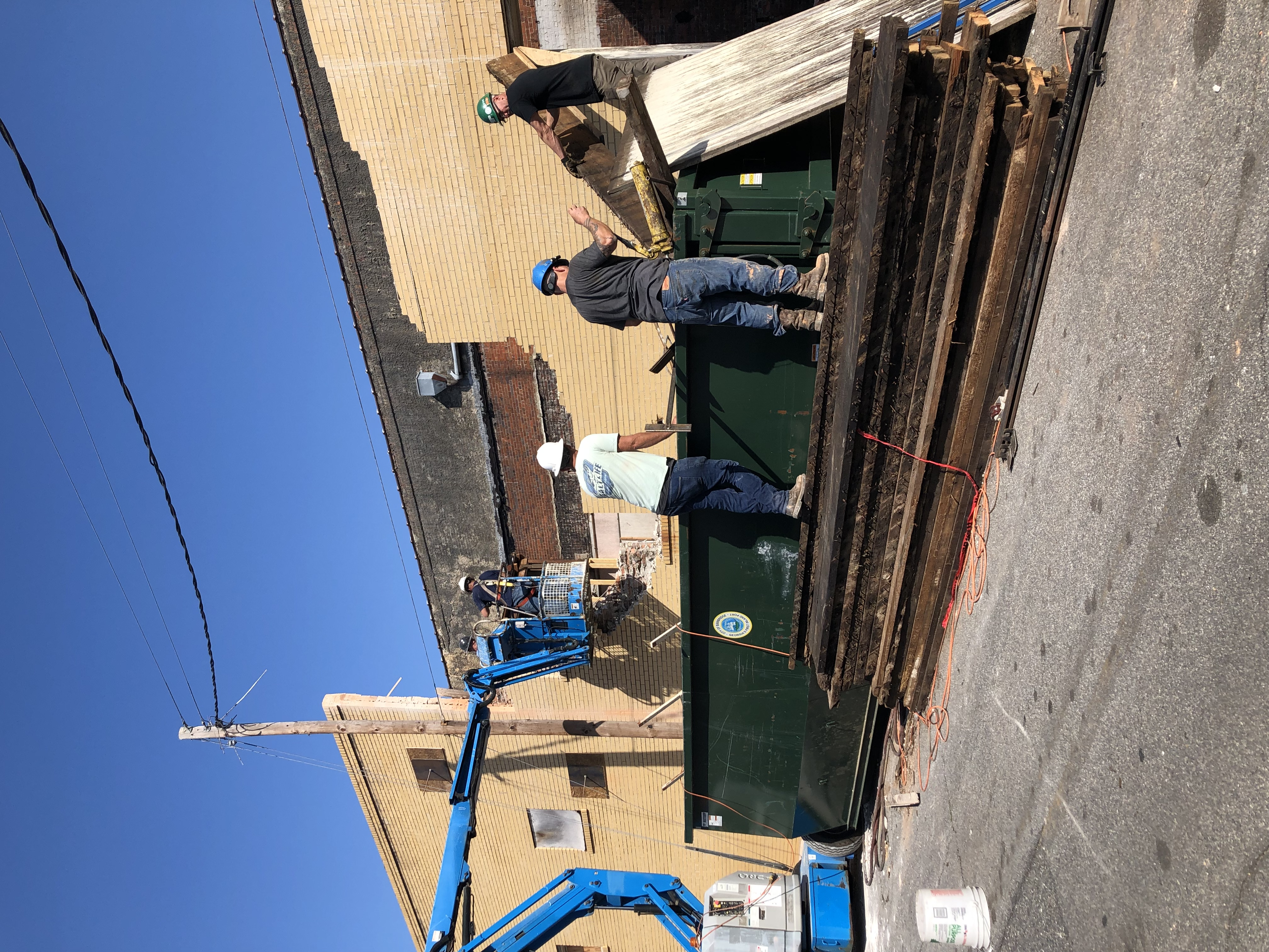 Removing wall for public restrooms