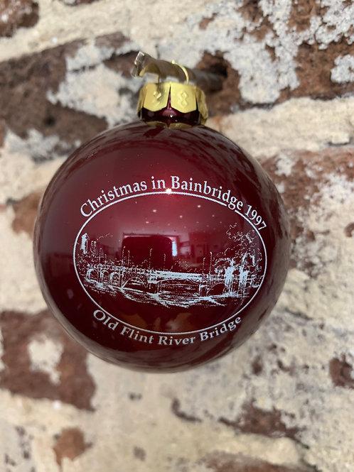 1997 -Mary Barber Cox - Christmas in Bainbridge Ornament