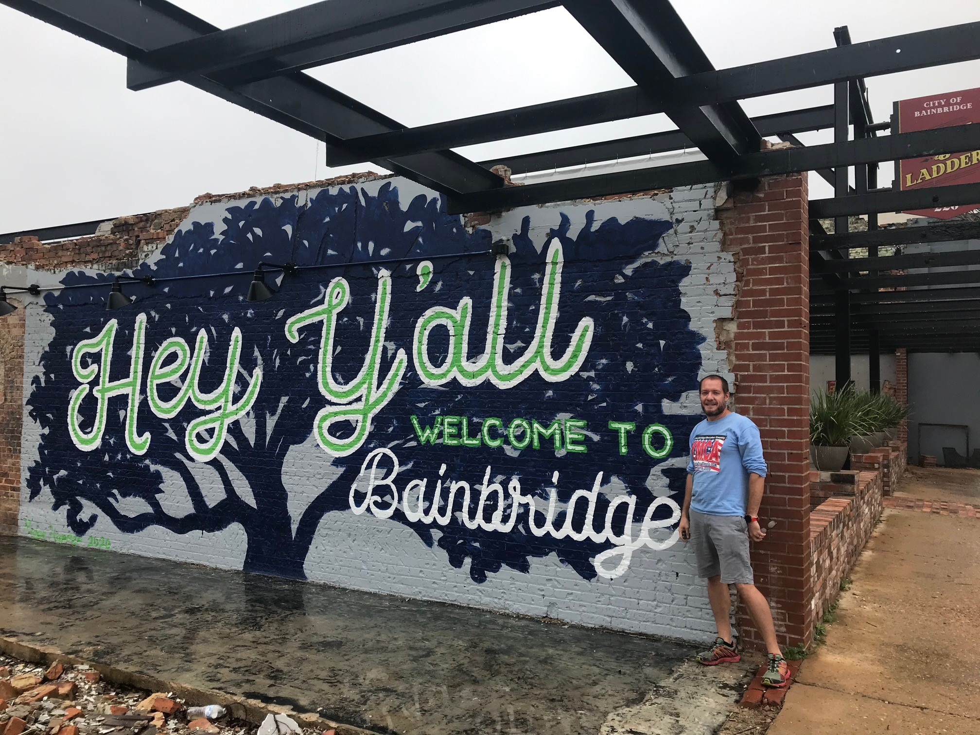Hey Yall Mural