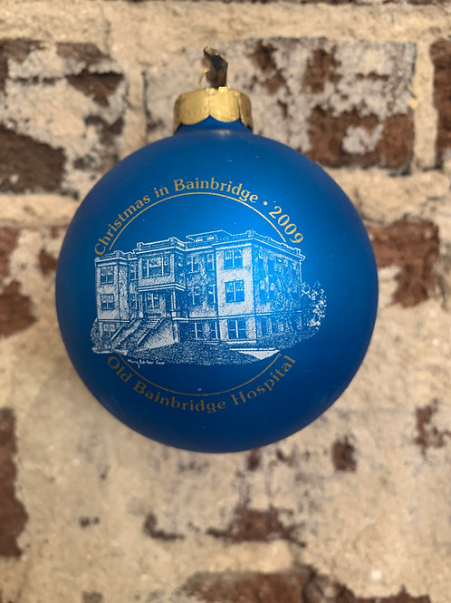 2009 - Mary Barber Cox - Christmas in Bainbridge Ornament
