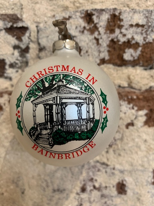 1991 - Mary Barber Cox - Christmas in Bainbridge Ornament