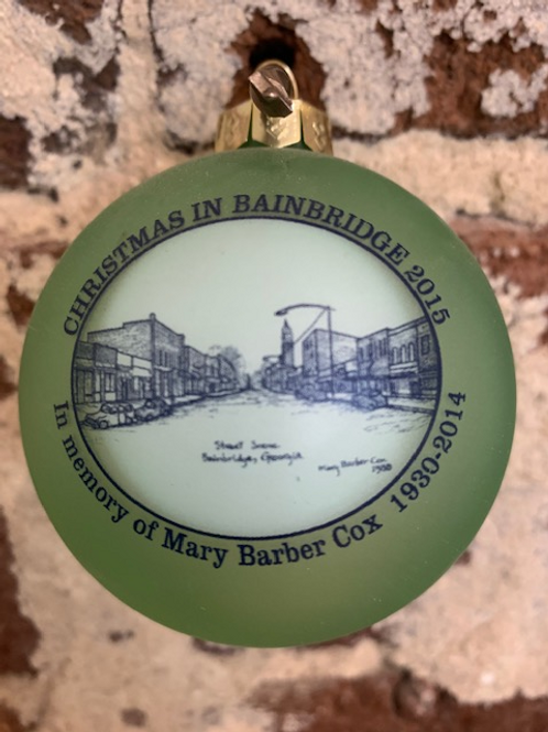 2015 - Mary Barber Cox - Christmas in Bainbridge Ornament
