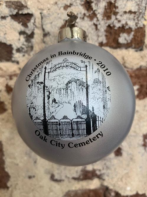 2010 - Mary Barber Cox - Christmas in Bainbridge Ornament