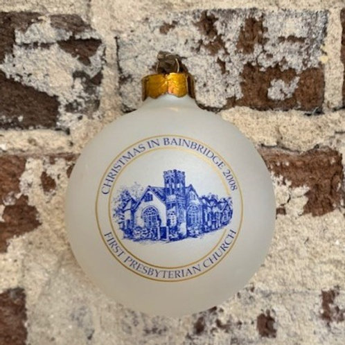 2008 - Mary Barber Cox - Christmas in Bainbridge Ornament