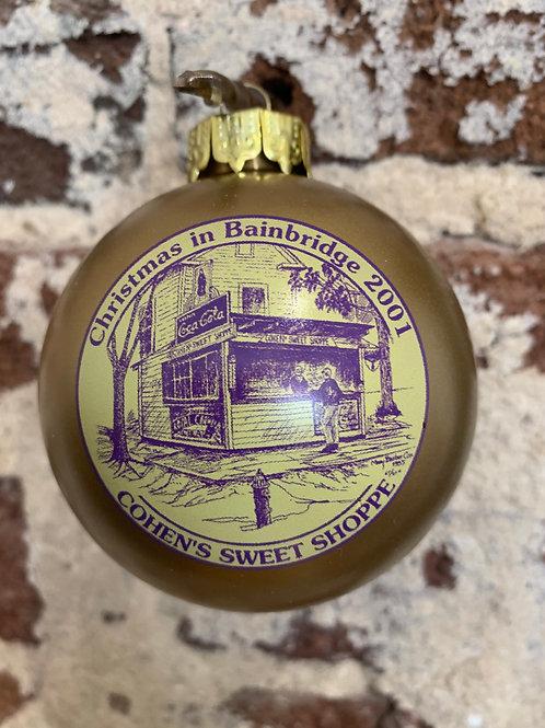 2001 - Mary Barber Cox - Christmas in Bainbridge Ornament