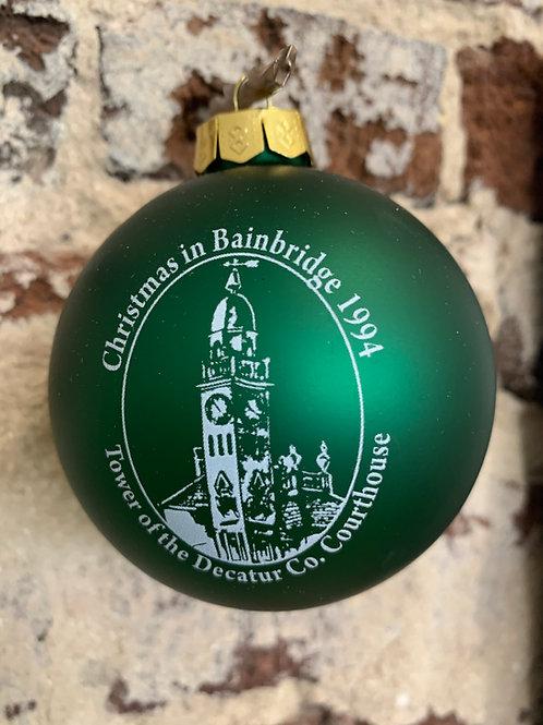1994 - Mary Barber Cox - Christmas in Bainbridge Ornament