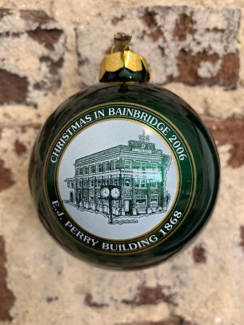 2006 - Mary Barber Cox - Christmas in Bainbridge Ornament