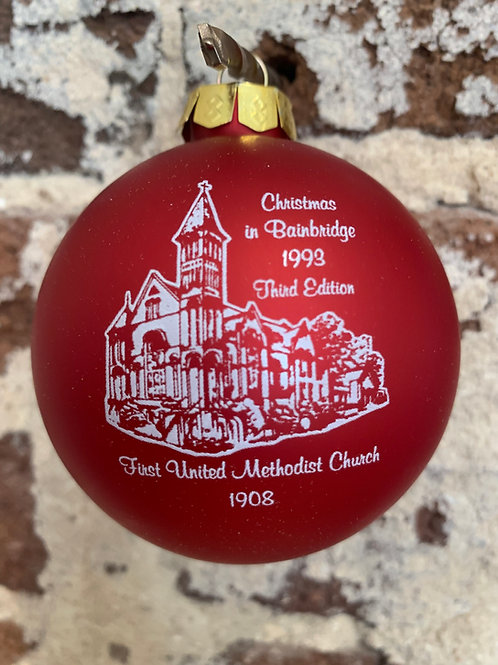 1993 - Mary Barber Cox - Christmas in Bainbridge Ornament
