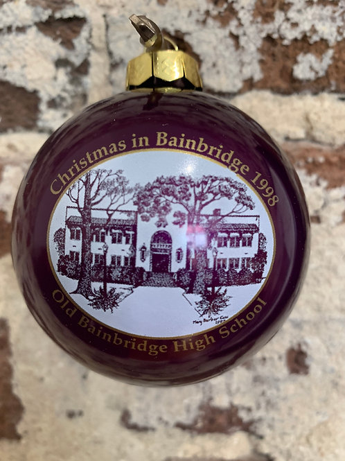 1998 - Mary Barber Cox - Christmas in Bainbridge Ornament