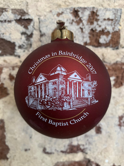 2007 - Mary Barber Cox - Christmas in Bainbridge Ornament