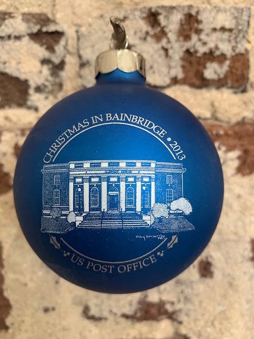 2013 - Mary Barber Cox - Christmas in Bainbridge Ornament