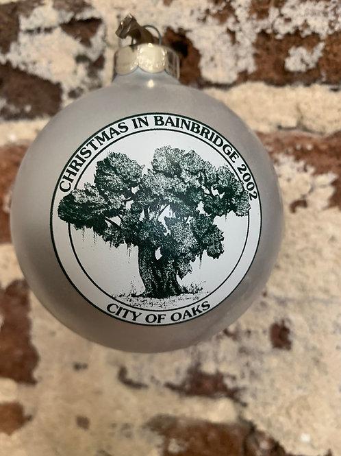 2002 - Mary Barber Cox - Christmas in Bainbridge Ornament