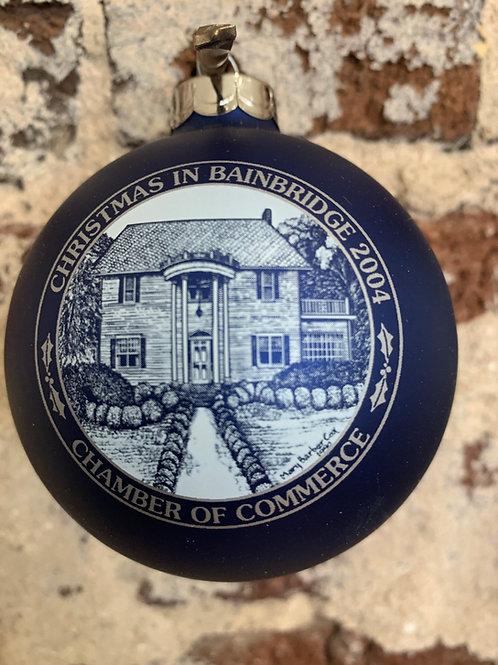 2004 - Mary Barber Cox - Christmas in Bainbridge Ornament