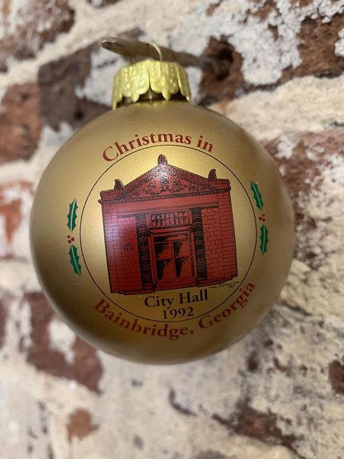 1992 - Mary Barber Cox - Christmas in Bainbridge Ornament