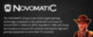 Novomatic slots casinos company and software review