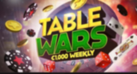 Table Wars - Table Games Tournament