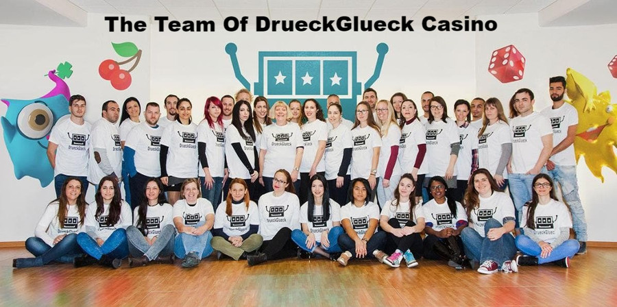 The Team of DrueckGlueck Casino