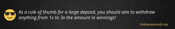 The best tip when using casino bonuses