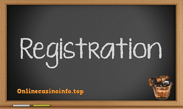 Online casino registration