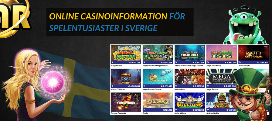 Sveriges basta onlinecasinon