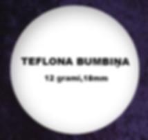 Teflona Ruletes Bumbiņa