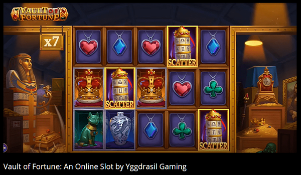 Vault of Fortune - online slot developed by Yggdrasil Gaming