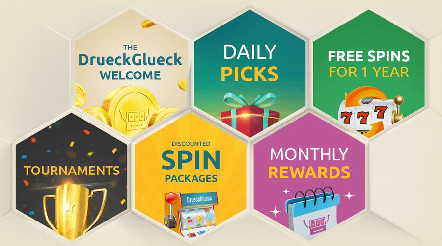 Drueckglueck Casino Bonus Offers