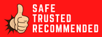 Safe, trusted, recommended casino