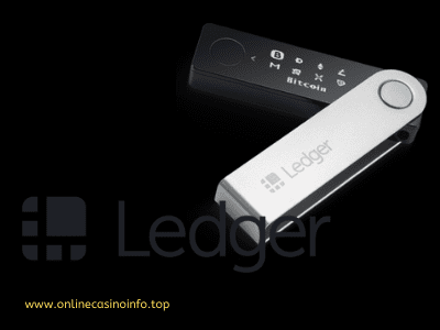 Ledger Nano S hardware bitcoin wallet