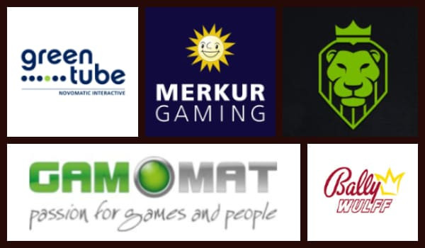 german online casino game providers