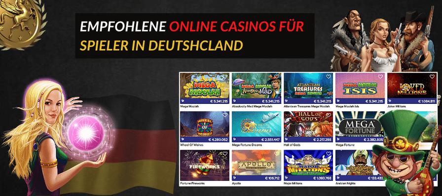 Beste online casinos Deutscland