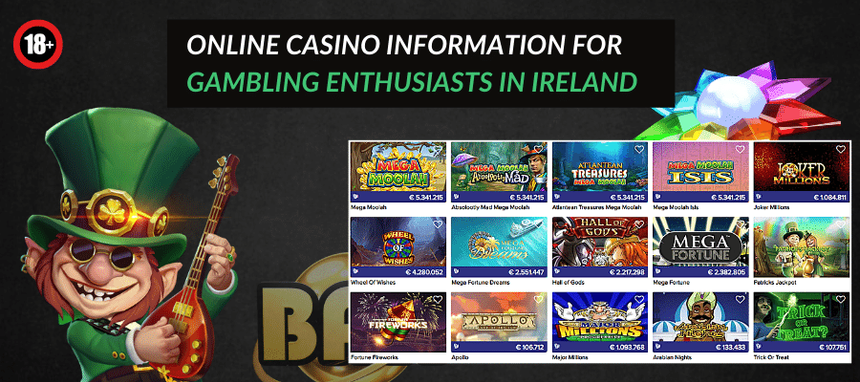 Best online casino information for gambling enthusiasts in Ireland