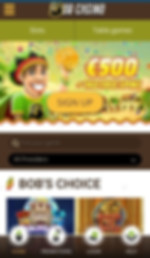 Bob Casino Mobile Site